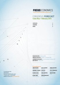 Costa Rica Macroeconomic Forecast