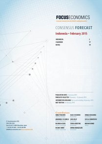 Indonesia Macroeconomic Forecast