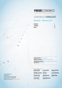 Romania Macroeconomic Forecast