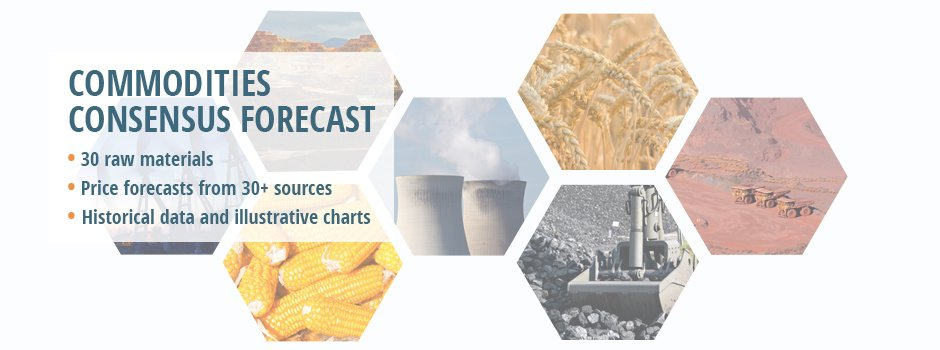 Commodities Data & Price Projections Report