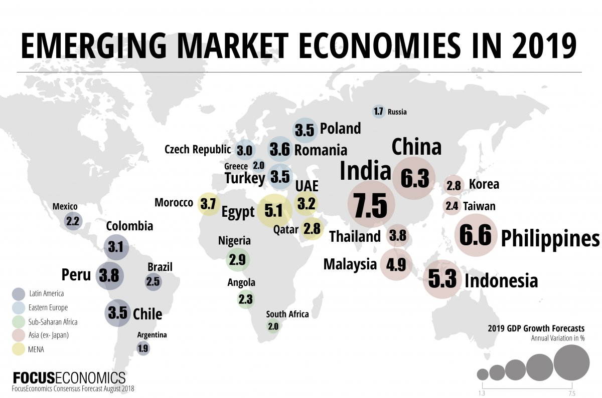 emerging markets economic outlook 2019